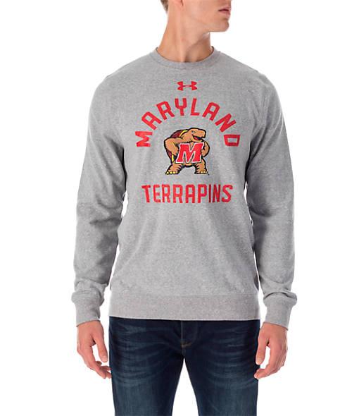 Men's Under Armour Maryland Terrapins College Tri-Blend Crew Sweatshirt
