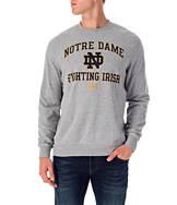 Men's Under Armour Notre Dame Fighting Irish College Tri-Blend Crew Sweatshirt