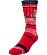 For Bare Feet Arizona Wildcats NCAA RMC Stripe Socks