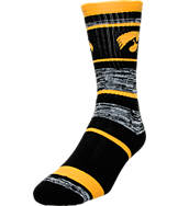 For Bare Feet Iowa Hawkeyes NCAA RMC Stripe Socks
