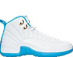 Girls' Grade School Air Jordan Retro 12 (3.5y-9.5y) Basketball Shoes