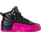 Girls' Preschool Jordan Retro 12 Basketball Shoes