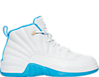 Girls' Preschool Air Jordan Retro 12 Basketball Shoes