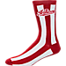 Alternate view of Women's For Bare Feet Indiana Hoosiers College Candy Stripe Crew Socks in Candy Stripe