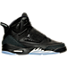 Right view of Boys' Grade School Air Jordan Son of Mars Basketball Shoes in Black/Metallic Silver/Anthracite
