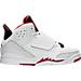 White/Gym Red/Black/Pure Platinum