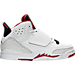 Right view of Boys' Preschool Jordan Son of Mars Basketball Shoes in White/Gym Red/Black/Pure Platinum