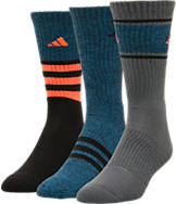 Men's adidas Cushioned 3-Pack Crew Socks