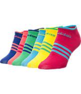 Women's adidas Superlite No Show 6-Pack Socks