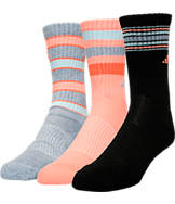 Women's adidas Originals Retro 2 3-Pack Crew Socks