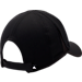 Back view of Men's adidas adiZero Perforated Adjustable Hat in Black