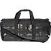 Front view of adidas Originals Santiago Duffel Bag in Black