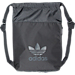 Front view of adidas Tokyo Sackpack in Black