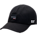 Front view of Men's adidas Originals EQT Perf Adjustable Hat in Black