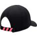 Back view of Men's adidas Originals EQT Perf Adjustable Hat in Black