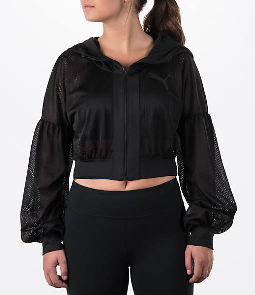 Women's Puma Mesh Cover Up Jacket