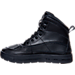 Left view of Kids' Grade School Nike ACG Woodside Boots in Black/Black