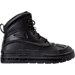 Right view of Boys' Preschool Nike Woodside 2 High Boots in Black/Black