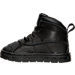 Left view of Boys' Toddler Nike Woodside 2 High Boots in Black