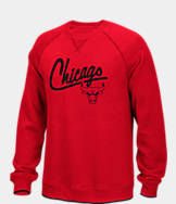 Men's adidas Chicago Bulls NBA Originals Crewneck Sweatshirt