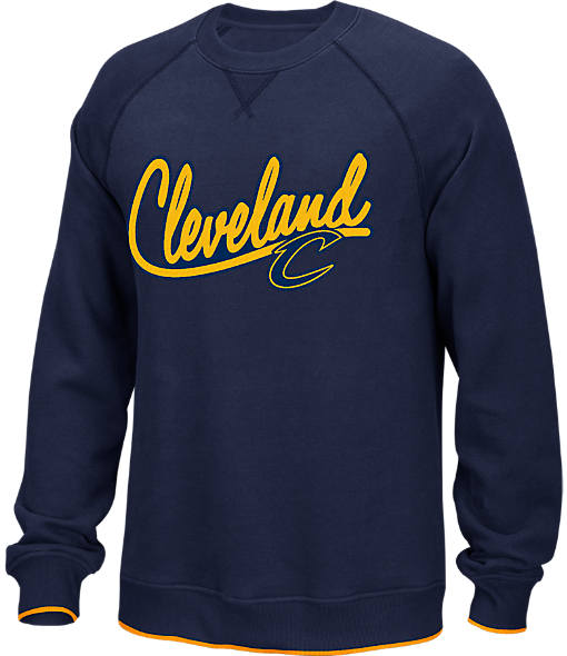 Men's adidas Cleveland Cavaliers NBA Originals Crewneck Sweatshirt