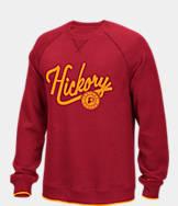 Men's adidas Indiana Pacers NBA Originals Hickory Crewneck Sweatshirt