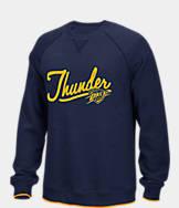 Men's adidas Oklahoma City Thunder NBA Originals Crewneck Sweatshirt
