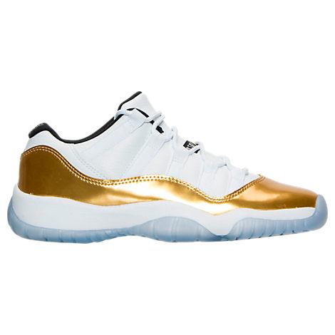 Boys' Grade School Air Jordan Retro 11 Low Basketball Shoes