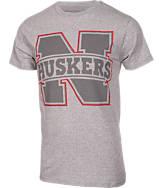 Men's Majestic Nebraska Cornhuskers College Reflective Logo T-Shirt