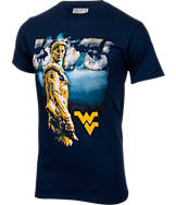 Men's Majestic West Virginia Mountaineers College Mountains T-Shirt