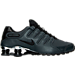 Right view of Men's Nike Shox NZ PRM Running Shoes in Anthracite/Black/Black/Cool Grey