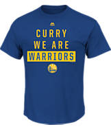 Men's Majestic Golden State Warriors NBA Curry One T-Shirt