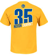 Men's Majestic Golden State Warriors NBA Kevin Durant Name and Number T-Shirt