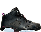 Girls' Preschool Jordan Retro 6 Basketball Shoes