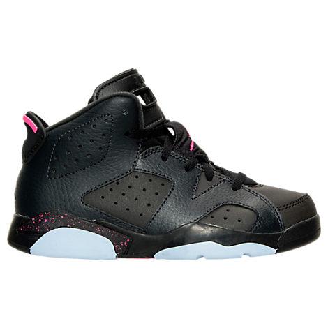 Girls' Preschool Jordan Retro 6 Basketball Shoes