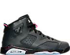 Girls' Grade School Air Jordan Retro 6 (3.5y-9.5y) Basketball Shoes