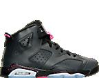 Girls' Grade School Air Jordan Retro 6 (3.5y-9.5y) Basketball Shoes