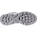 Bottom view of Men's Skechers GO Run 400 Generate Running Shoes in Grey/Orange/Black