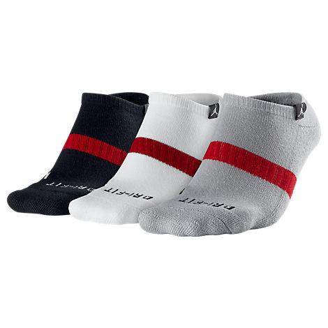 Men's Jordan No-Show 3-Pack Socks