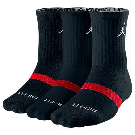 Jordan Dri-FIT 3-Pack Crew Socks