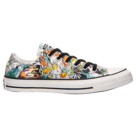 Women's Converse Chuck Taylor Ox Daisy Print Casual Shoes
