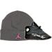 Right view of Girls' Infant Jordan Retro 13 Gift Pack in Black/Anthracite/Hyper Pink