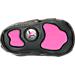 Bottom view of Girls' Infant Jordan Retro 13 Gift Pack in Black/Anthracite/Hyper Pink