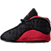 Left view of Infant Jordan Retro 13 Gift Pack in Black/True Red/White