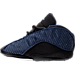 Left view of Infant Jordan Retro 13 Gift Pack in Brave Blue/Metallic Silver/Black