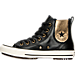 Left view of Women's Converse Chuck Taylor Chelsee Boot Casual Shoes in 001