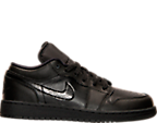 Boys' Grade School Air Jordan 1 Low Basketball Shoes