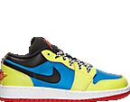 Boys' Grade School Air Jordan 1 Low Basketball Shoes