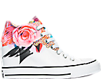Women's Converse Chuck Taylor Lux Wedge Casual Shoes