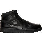 Men's Air Jordan Retro 1 Mid Basketball Shoes